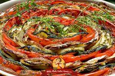 Tian provençal   Petits Plats Entre Amis Japchae, Paella, Ethnic Recipes, Food, Eggplant, Kitchens, Vegetable Tian, Essen, Meals