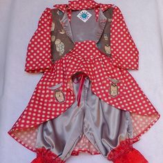 Toddler Girls Circus or Steampunk Costume Jacket by TwinsFromOz, $85.00