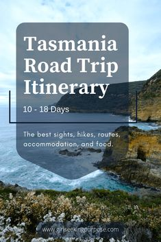 An Itinerary for Tasmania: Day Road Trips Tasmania is an excellent destination for an Australian road trip. This guide contains a road trip itinerary for Tasmania for lengths of 10 - 18 days. Tasmania Road Trip, Tasmania Travel, Europe Travel Tips, Travel Guides, Travel Destinations, Travel Oz, Travel List, Holiday Destinations, Travel Around The World