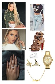 """What A Feeling"" by paukar ❤ liked on Polyvore featuring De Beers and Bulova"