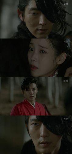[Spoiler] 'Scarlet Heart: Ryeo' Kang Ha-neul saves IU from Lee Joon-ki