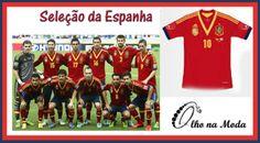 Seleção da Holanda   -Copa 2014 -Brasil - Grupo B - @olho_moda