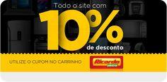 [ Ricardo Eletro ] - Cupom 10% de desconto ! Frete Grátis em vários produtos .
