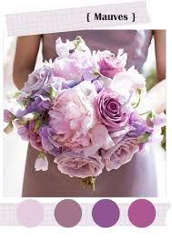 bouquet mariée romantique parme blanc violet rose - Recherche Google
