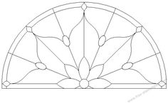 round stained glass patterns - Google Search