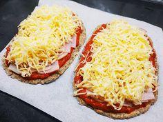 Test és Forma: Chiás-köleslisztes pizzalepény (hisztaminszegény, IR-barát recept) Vegetable Pizza, Bacon, Vegetables, Food, Essen, Vegetable Recipes, Meals, Yemek, Pork Belly