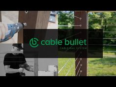 Watch a short demo installation video, or follow along with step-by-step instructions on installing Cable Bullet tensioners in wood posts. Wood Railing, Cable Railing, Drill Guide, Coding Standards, Deck Stairs, Space Up, Cool Deck, Wood Post, Building Code