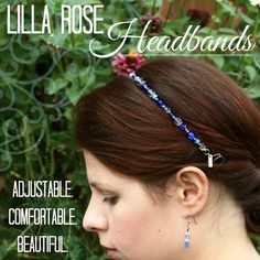 Lilla Rose hairbands can help keep your hair out of your face during the windy day and add some sparkle as well smile emoticon http://lillarose.biz/rrobinson