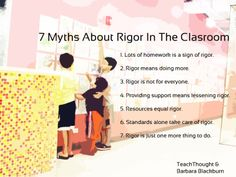 myths-about-rigor-in-the-classroom