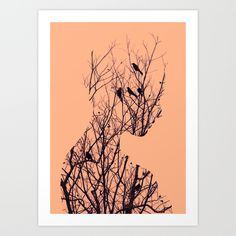 Buy Birds by Andreas Lie as a high quality Art Print. Worldwide shipping available at Society6.com. Just one of millions of products available.