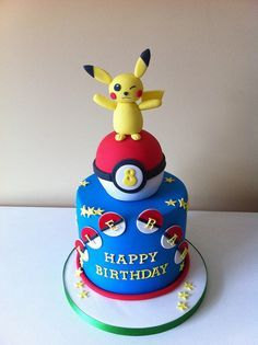 """Résultat de recherche d'images pour """"pokemon cake"""""""