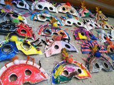 "South America: Carnival Masks - ""Play Mas'! A Carnival ABC"" by Dirk Mclean"