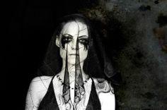 Black Widow by VJ Von Art  #art #photography #goth #portrait #BlackWidow #Wedding #love