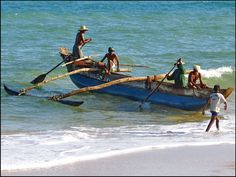 Fishing Boat, Tangalle Beach