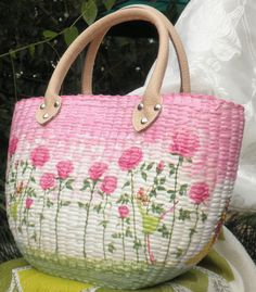 decoupage bag