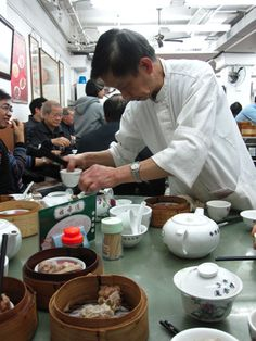 Dim Sum breakfast in Hong Kong Seafood Dishes, Fish And Seafood, Wine Recipes, Asian Recipes, Hong Kong Express, Authentic Chinese Recipes, Thing 1, Dim Sum, Charcuterie Board
