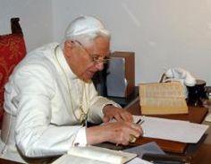 Carta del Papa emérito Benedicto XVI al matemático Odifreddi