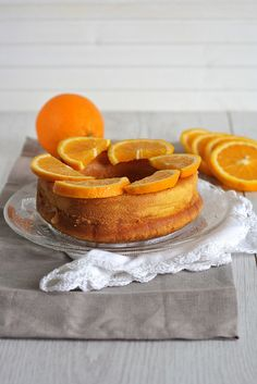 Savarin all'arancia