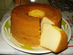 Imagem da receita Bolo pão de ló