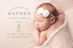 Newborn Elements and Overlays by Jamie Schultz Designs