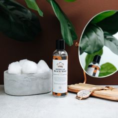 Refresh and re-balance skin with our African Black Soap Toner. African Black Soap, Facial Toner, Skin Care Regimen, Shea Butter