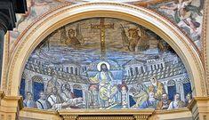 Mosaic. Basilica of Santa Pudenziana in  Rome!