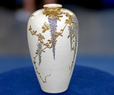 Yabu Meizan Japanese Meiji Period Satsuma Vase  $5,000 Auction  –  $8,000 Auction