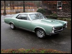 1967 Pontiac GTO Hardtop: my grandfather's had this car. same color & everything.