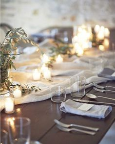 @ginnyau has the ability to craft the most welcoming tables. We want to sit here until the candles burn out. Image: @jamesbennettphoto | Creative Direction: @ginnyau | Creative Direction & Styling: @lesley_lau_ #weddingreception #receptioninspiration #processdrivendesign #elegantwedding #weddinginspiration