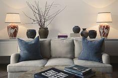 A Wabi Sabi inspired Australian beach side living room