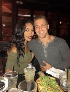 Beautiful interracial couple.
