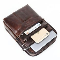 Fishagelo Men Genuine Leather Multi-Card Slots Short Wallet Retro Card Holder Color : Color Yellow