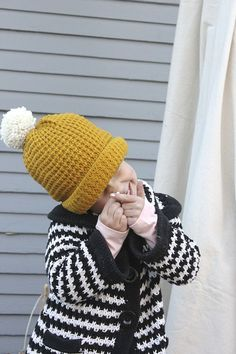 Love, love, love this hat! Waffle stitch?