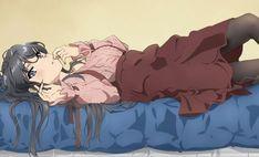 Seishun Buta Yarou wa Bunny Girl Senpai no Yume o Minai Kawaii Anime Girl, Anime Art Girl, Manga Girl, Me Anime, Anime Love, Manga Anime, Shokugeki No Soma Anime, Mai Sakurajima, Ecchi