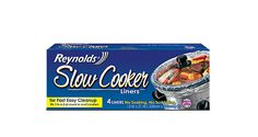 Reynolds® Slow Cooker Liners keep your slow cooker clean and let you avoid scrubbing and soaking so you can get back to spending time with your family.