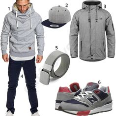 Graue Strickjacke kombinieren (316 Outfits für Herren trends