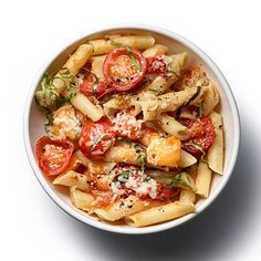 Our favorite summer #recipe pleases kids, adults, and cooks, who barely need to lift a finger to get this on the table: Pasta With No-Cook #Tomato Sauce