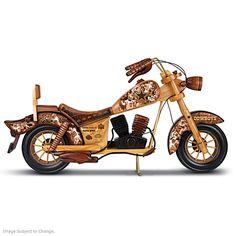 Dallas Cowboys Motorcycle Sculpture
