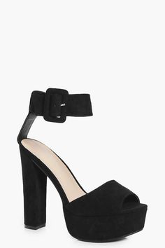 ac9ec3d87081 Platform Ankle Strap Heels