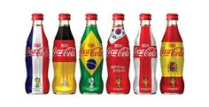 [Coke Bottle 89]기억하시죠? 2014 브라질 월드컵을 기념해 출시한 코카-콜라 브라질월드컵 한정판! 한국국가대표의 승리 염원을 담아 태극기와 역대 월드컵 우승국들의 국기를 모티브로 디자인했어요!