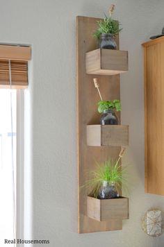 DIY Kitchen Herb Garden - Around My Family Table