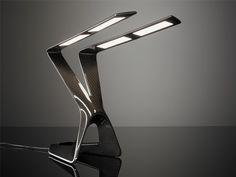 Carbon Fibre Lamp by Liternity
