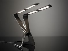 Liternity Victory Carbon Fiber OLED Table Lamp - Home & Office | Carbon Fiber Gear