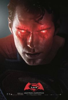 Batman v Superman unreleased poster - Superman