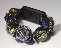 Free Beading Tutorial – Steampunk Zipper & Lampwork Bead Bracelet   Good River Gallery