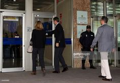 Cristina de Borbon and her husband Inaki Urdangarin arrive at the courtroom at the Balearic School of Public Administration for summary proceedings on January 11, 2016 in Palma de Mallorca, Spain. Princess Cristina of Spain, sister of King Felipe VI of Spain, faces a tax fraud trial over alleged links to business dealings of her husband, Inaki Urdangarin Princess Cristina co-owned with her husband a company called Aizoon alleged to be one of the companies used by the non-profit foundation…