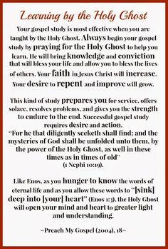 January Sunday School Handouts - The Godhead - The Things I Love Most