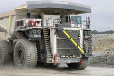 T 284 - Liebherr Mining Equipment, Heavy Machinery, Monster Trucks, Caterpillar, Trucks, Butterfly