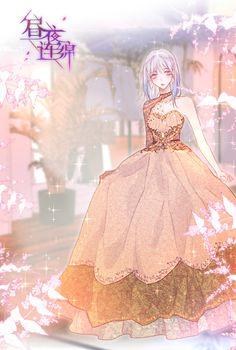 Anime Angel Girl, Anime Girl Dress, Cool Anime Girl, Beautiful Anime Girl, Cute Anime Guys, Cute Anime Couples, Manga Girl, Anime Art Girl, Chica Anime Manga