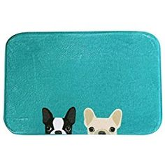 Home & Garden Well-Educated Bathroom Carpet Bulldog Pad Anti-slip Mat Door Bathroom Absorbent Non-slip Carpet Fashion Toilet Seat 031